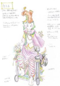 人の森ケチャップ_デザイン画1(帽子屋)軽い